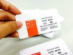 พิมพ์นามบัตร